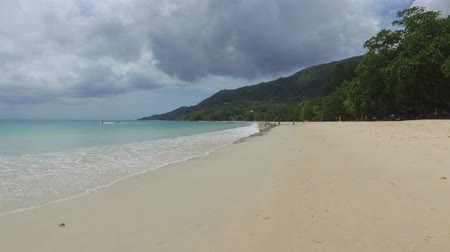 mahe : Walking On The Beau Vallon Beach, Mahe Island, Seychelles 1