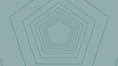 concêntrico : Digital generated video of modern concentric lines