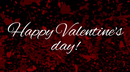anlamı : Digital composite of happy valentines day text with love on the background