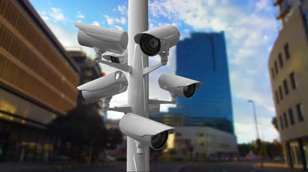 otoyol : Digitally generated moving surveillance cameras on the street