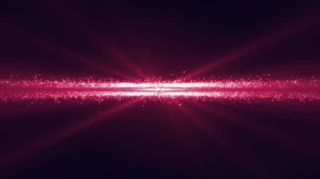 nápadný : Digital animation of a pink glittery line glowing and moving towards the screen while pink lightning appears Dostupné videozáznamy