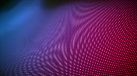 пунктирный : Digital animation of blue and pink lightning appearing on screen with background of blue and pink dotted patterns Стоковые видеозаписи