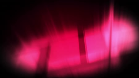 electric strike : Digital animation of pink lightning moving in the screen with background of pink glowing lights
