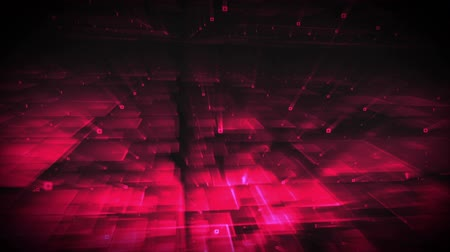 nápadný : Digital animation of pink lightning with background of pink square patterns
