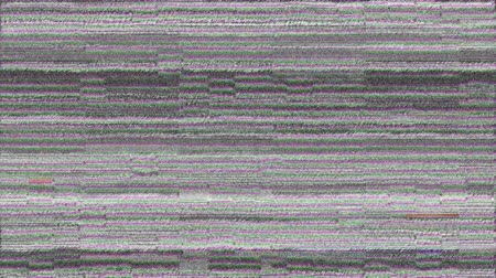 downwards : Digital animation of a static noise on a screen. Static seems to be moving downwards. Stock Footage