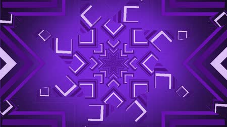 размеры : Digital animation of lines forming patterns moving in the screen against a purple background