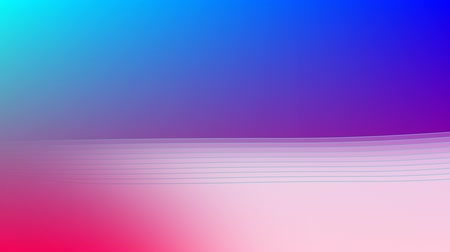 undulating : Animation of an undulating white form below a soft blue area with a glowing pink horizon
