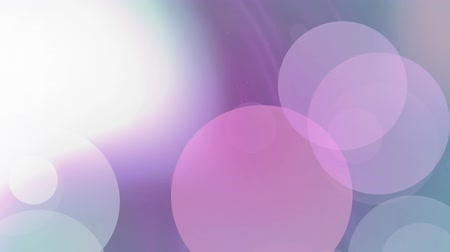 свечение : Animation of slow flowing pink textured form with lens flare and bokeh spots of light