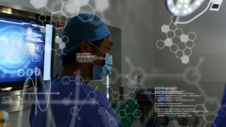 estrutural : Animation of structural formulae of chemical compounds and data processing over surgeons in the operating theatre