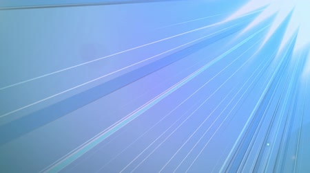 pace : Animation of seamless loop of lines radiating from top right corner moving in fast hypnotic motion with glowing blue background. Seamless loop of digital motion.