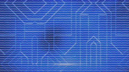 carte mere : Animation of flcikering blue horizontal lines on close up of circuit board on blue background. Global technology. 3d digital design composite video animation.