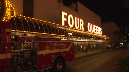 fãs : 4K ES: The Four Queens Casino on Fremont Street Las Vegas. Circa 2016 - Sony FS5 4k UHD 30p Native Resolution