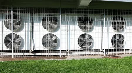 refrigerant : Many large air conditioners