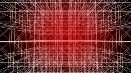 faceta : Abstract white lines with dots. Plexus background. Plexus futuristic. Plexus geometry. Plexus cybernetic