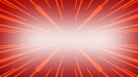 célere : Yellow simple lines on red background. Glowing lasers. Motion Graphic backdrop. Space for your text