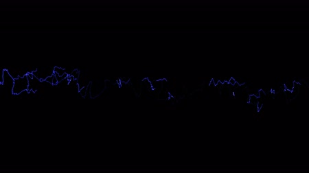 descarga : Beautiful animation of Lightnings. Electric Arcs and Lightnings.