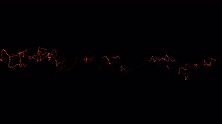 electric strike : Beautiful animation of Lightnings. Electric Arcs and Lightnings.