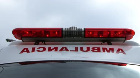 karetka : Ambulance Light close-up