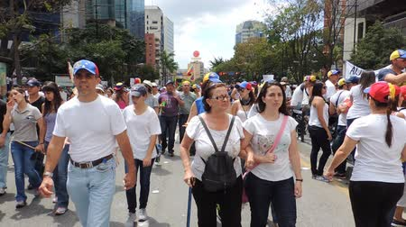 protesto : Protest for freedom in Venezuela Vídeos