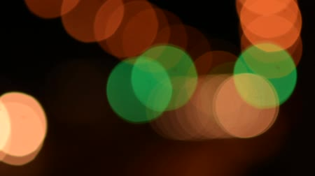 xenon lights : Abstract Background of Defocused Night Traffic Lights.