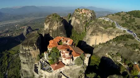 st stephen : Aerial view of the monastery of St. Stephen in Meteora, Greece
