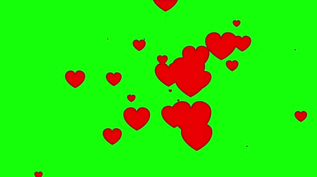 duše : Animated 2d heart.
