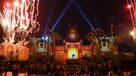 древесный : Orlando, Florida. May 26, 2019. Wonderful World of Animation and Fireworks at Hollywood Studios.