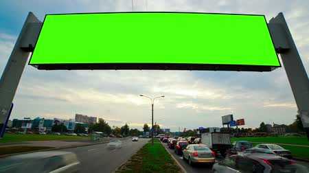 billboard green screen