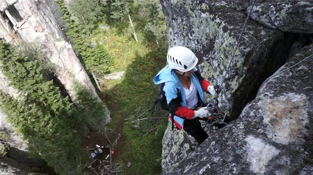 extremo : Climber, Girl, Rock, Traffic, Up, Rope