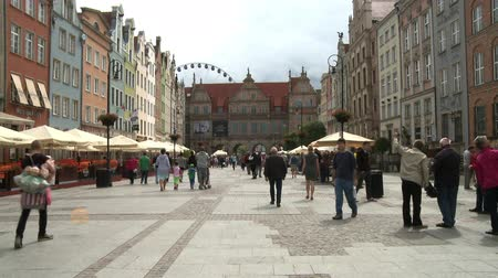 quadrado : Gdansk Old Town Square