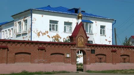 elisabeth : Alapaevsk, Russia - 17 July 2012: St. Elisabeth Convent. Historical religious place of residence family of Russian Emperor Nicholas II great princes of Romanovs before their execution.