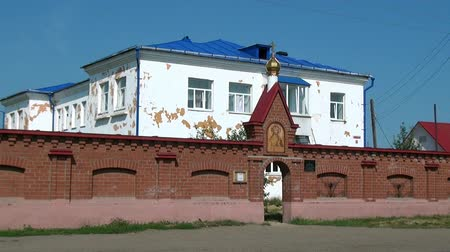 governor : Alapaevsk, Russia - 17 July 2012: St. Elisabeth Convent. Historical religious place of residence family of Russian Emperor Nicholas II great princes of Romanovs before their execution.