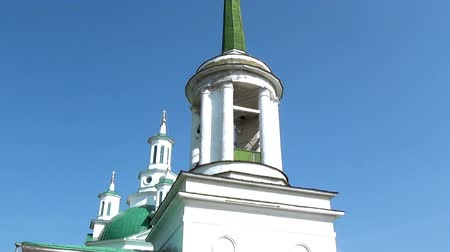 governor : Alapaevsk, Russia - 17 July 2012: Orthodox church Holy Trinity Cathedral. Here were stored bodies of murdered princes of Romanovs and St. Elizabeth Feodorovna