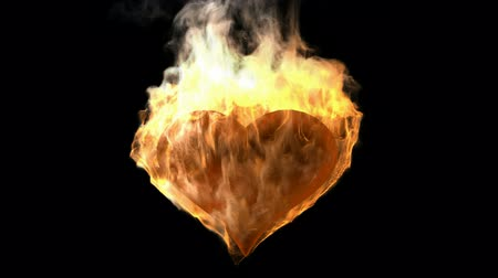 yanmak : burning heart. Alpha matted