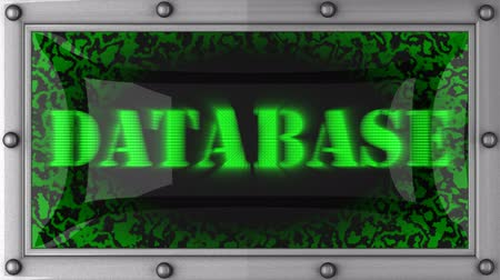 banca dati : Database annuncio sul display LED