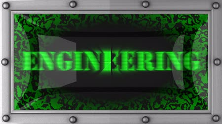 engineering : engineering  announcement on the LED display
