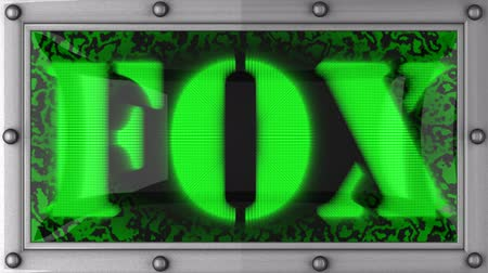 tilki : fox announcement on the LED display