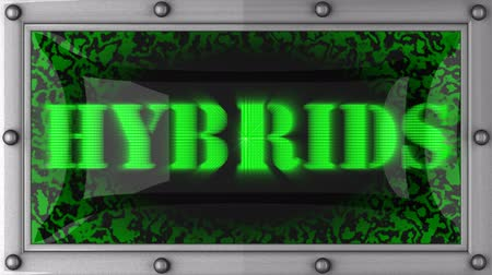 hybrids : hybrids  announcement on the LED display