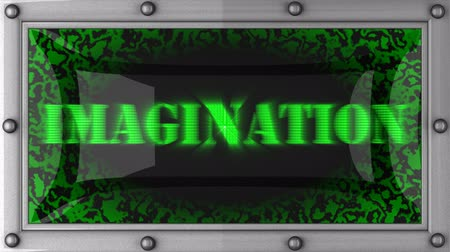 fantazja : imagination  announcement on the LED display