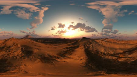 güney afrika : panoramic of desert at sunset. made with the one 360 ???? ââdegree lense camera without any seams. ready for virtual reality