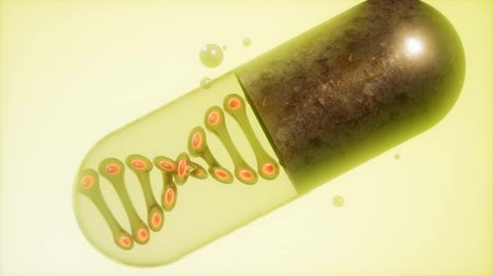 chromosoom : microcapsule met DNA