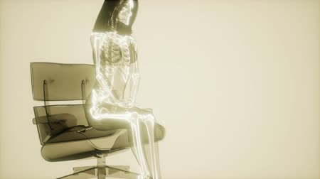 Human Skeleton Radiography Scan