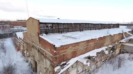 urss : abandoned factory from the time of the Soviet Union. Russia