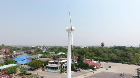the windmill on the beach in Pattaya, Thailand