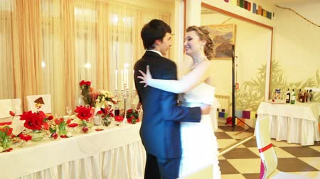 weddings : In love with a married couple dancing first wedding dance