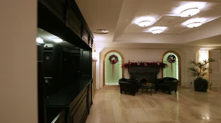 show room : Festosamente decorate ristorante elegante hall