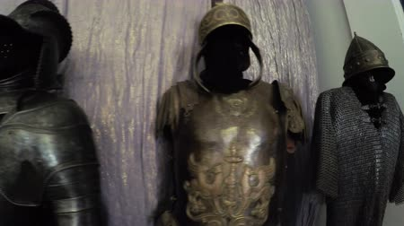 şövalye : Knight armor in film museum of Mosfilm