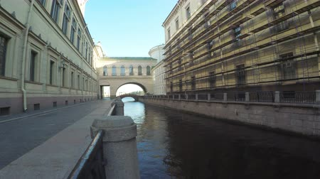 központi : Canal and bridge near Hermitage