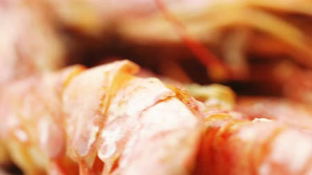 kerevit : Norwegian lobster with rice Stok Video