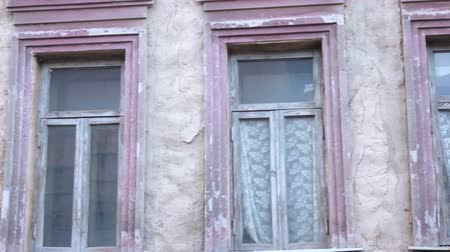 wicket : Urban scenery Russian home Stock Footage